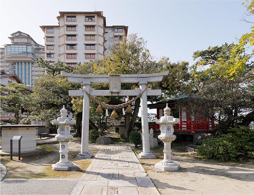 弁天崎源泉公園/弁財天(芸の神)